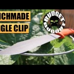 Benchmade's New Fixed Blade Knife! FIRST LOOK: Jungle Clip Point — Camping, Survival, Hunting