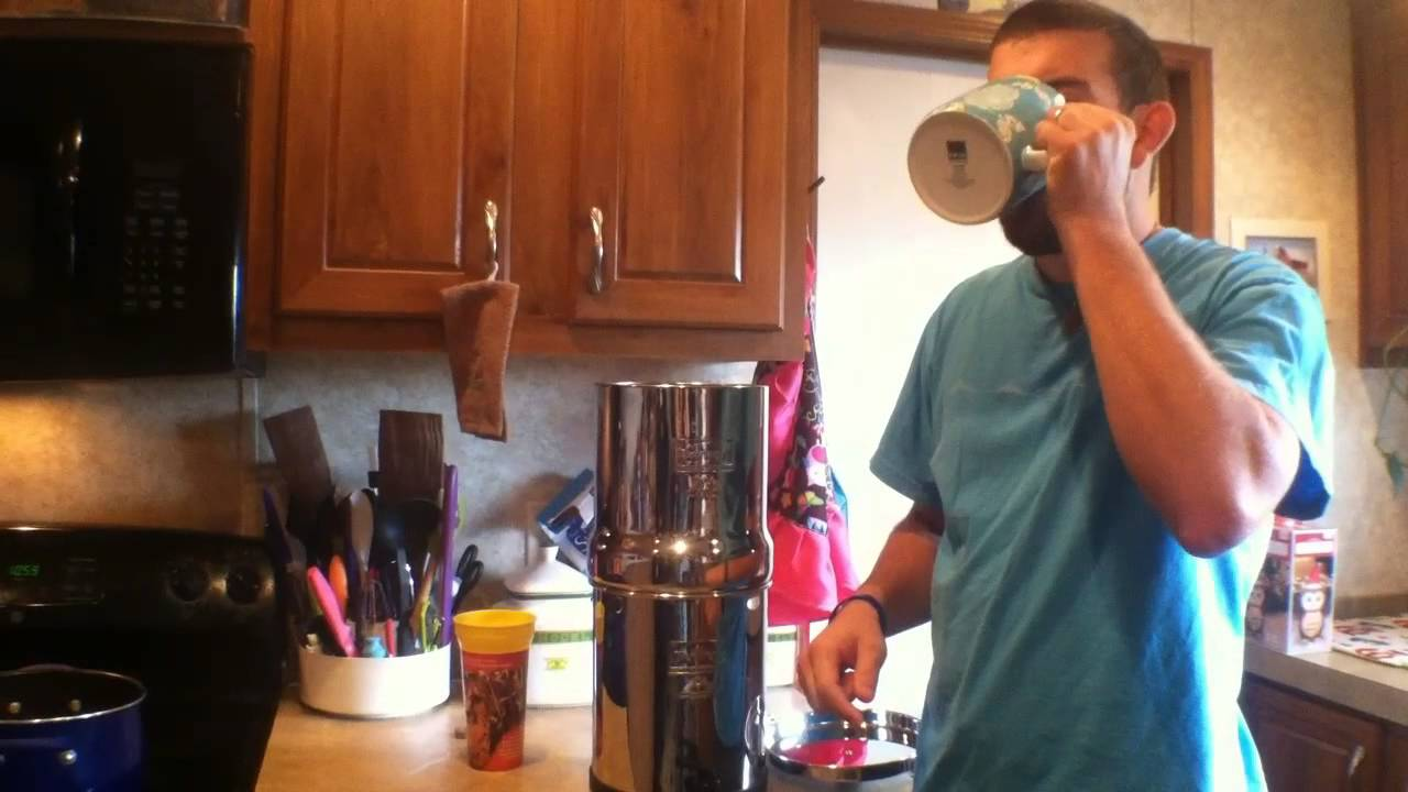 Big Berkey water filter system review, assembly and water test