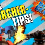 Boom Beach | SCORCHER TIPS & STRATEGY! | Clearing Player Bases!