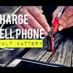 Charge Phone with a 9 Volt- Phone HACK!!!