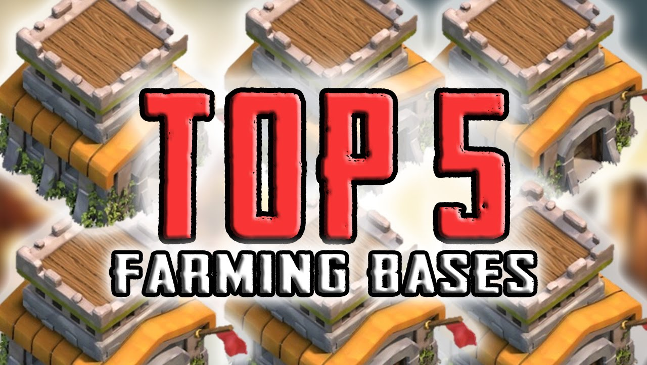 Clash Of Clans Top 5 Best Town Hall 8 Farming Bases Best Th8