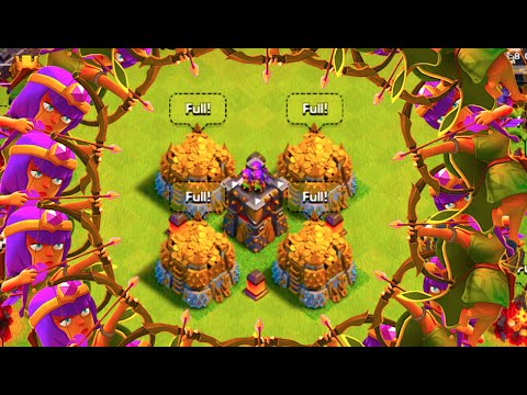 1024 TROPHIES ON DEFENCE IN 12 HOURS! CLASH OF CLANS