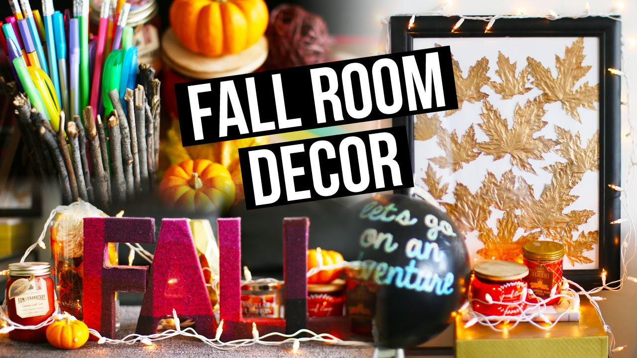 Diy fall room decor organization decorating ideas for Room decor organization