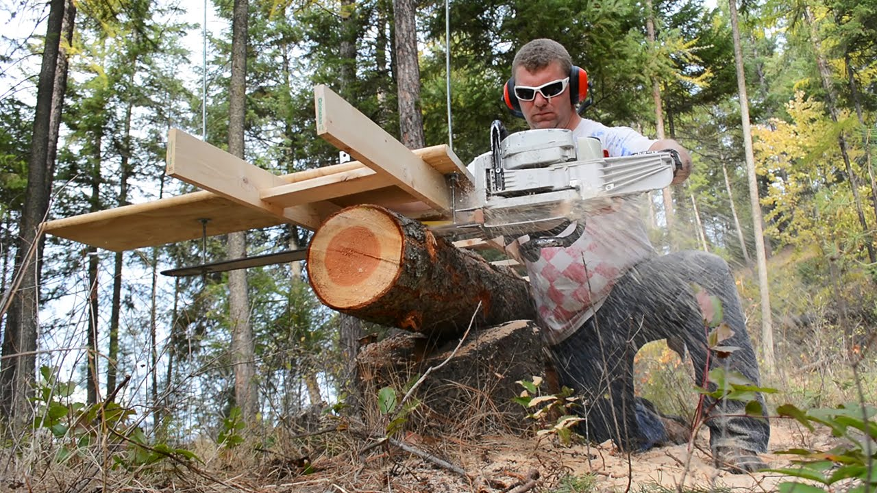 Granberg Chainsaw Mill Unboxing Alaskan Chainsaw Mill