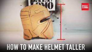 How to Add Height to Cardboard Helmet
