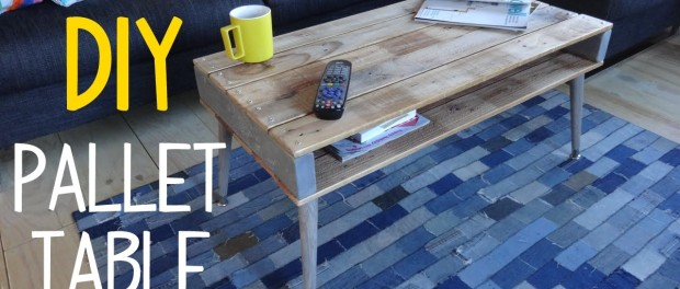 How To Build A Simple Pallet Wood Table