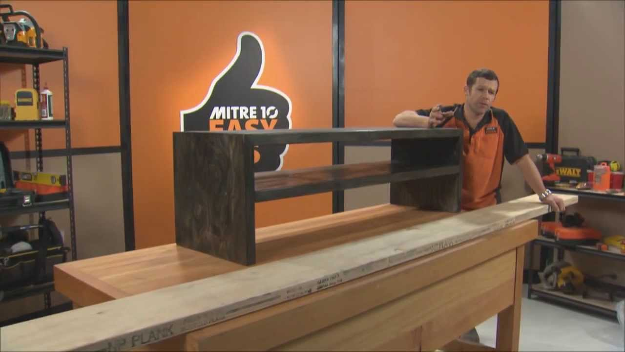 How To Build A Tv Cabinet Mitre 10 Easy As Diy Fyi