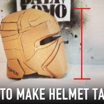 How to Fix Cardboard Helmet – Add Height | Dali DIY