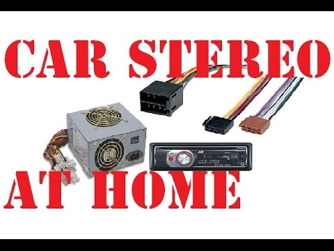 how to install a car stereo at home using computer power supply atx car stereo power supply diagram at Car Stereo Power Supply