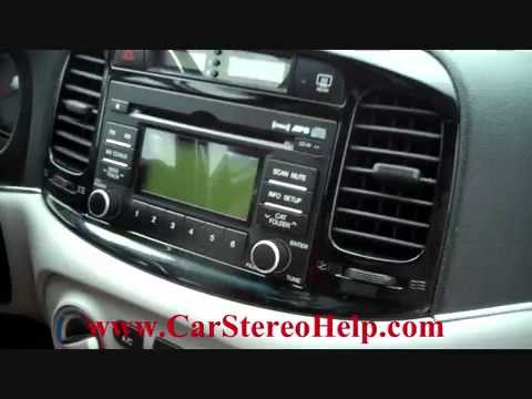 Hyundai Accent Car Stereo Removal Diy Fyi
