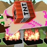 Minecraft: WEAPONS FOR WAR! (LANDMINES, BOMBS, & EXPLOSIVES!) Custom Command
