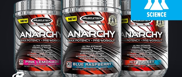 Muscletech Anarchy Pre-Workout Science-Based Overview | Dr. Krissy Kendall