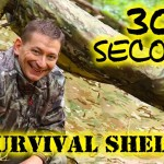 NEW! 30 Second Survival Shelter – HACK – OPSEC Hunting / Camping / Bug Out Bag / EDC  – BEST Poncho