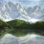 Paint with Kevin Hill – Swiss Mountais