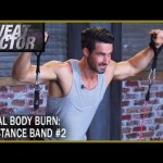 Total Body Burn Resistance Band Training with Drake: Circuit 2- Sweat Factor