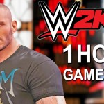 WWE 2K16 Gameplay Randy Orton Sting Seth Rollins Terminator WWE 2K16 1 Hour Of Gameplay