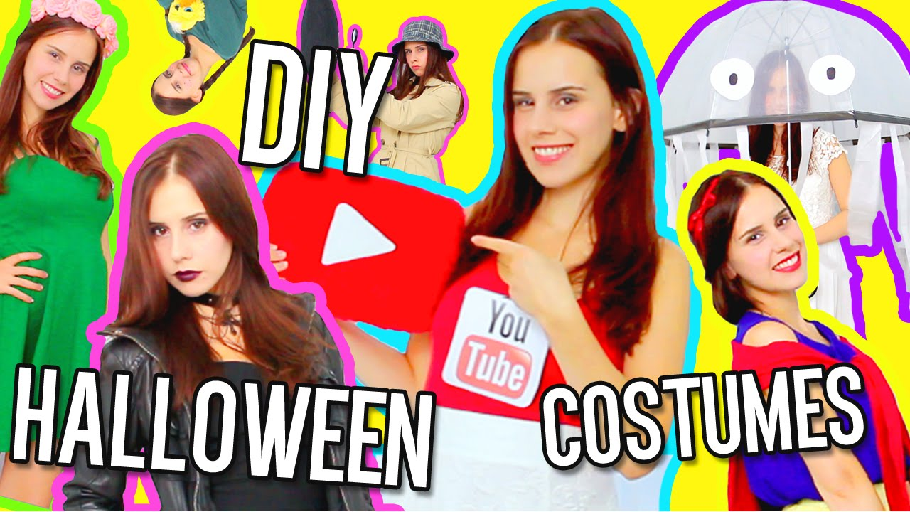 10 DIY Last Minute Halloween Costumes For FREE With Things You Already Have