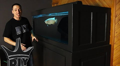 370 gallon plywood aquarium update for How to reseal a fish tank