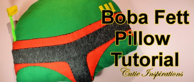 Boba Fett pillow – DIY pillow tutorial