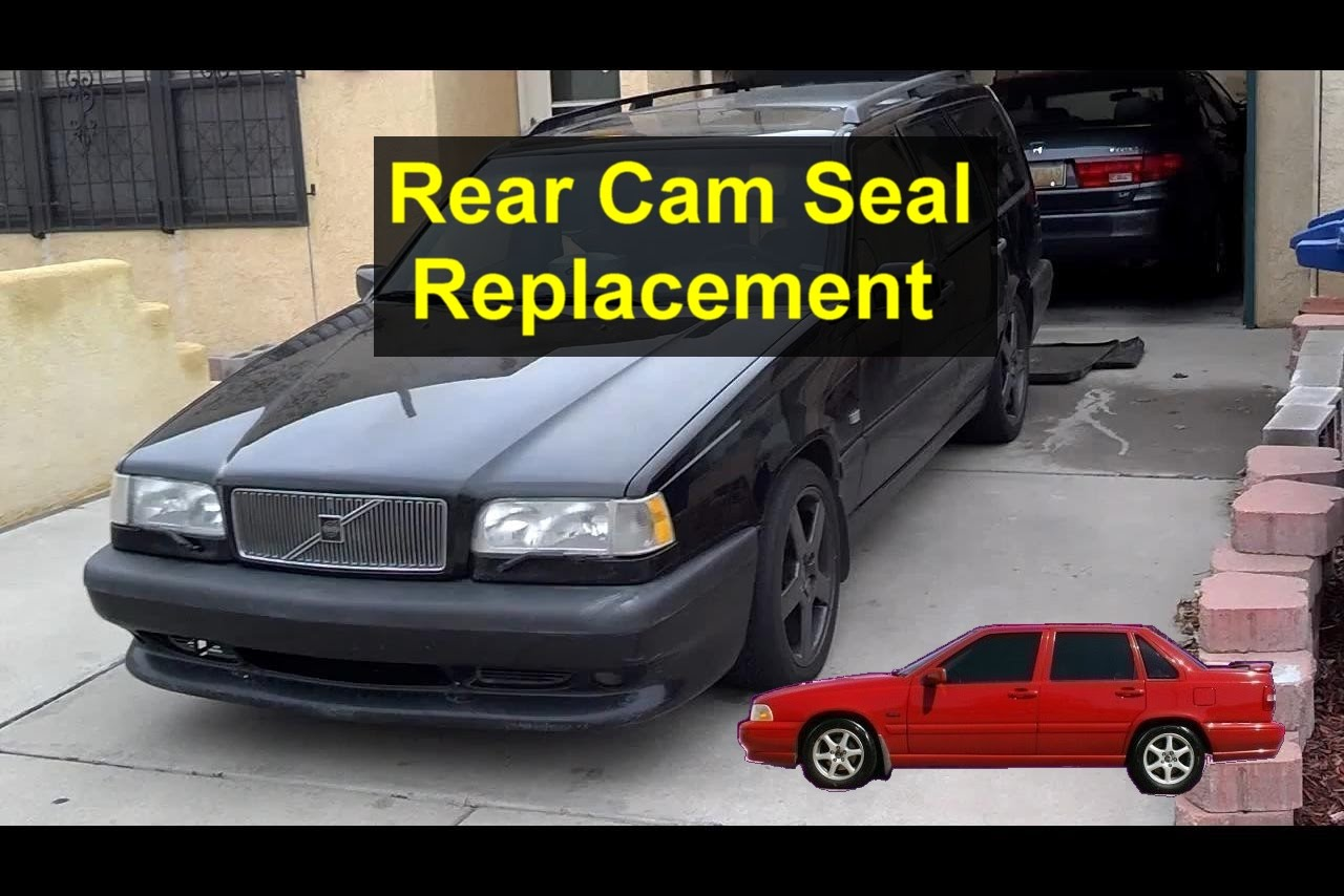 Volvo 850 Egr Valve Clean Cam Seal Replacement Exhaust Camshaft Position Behind The Sensor Votd 1280x854
