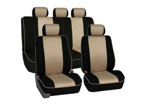 Car Seat Covers Lumbar Support Cushion