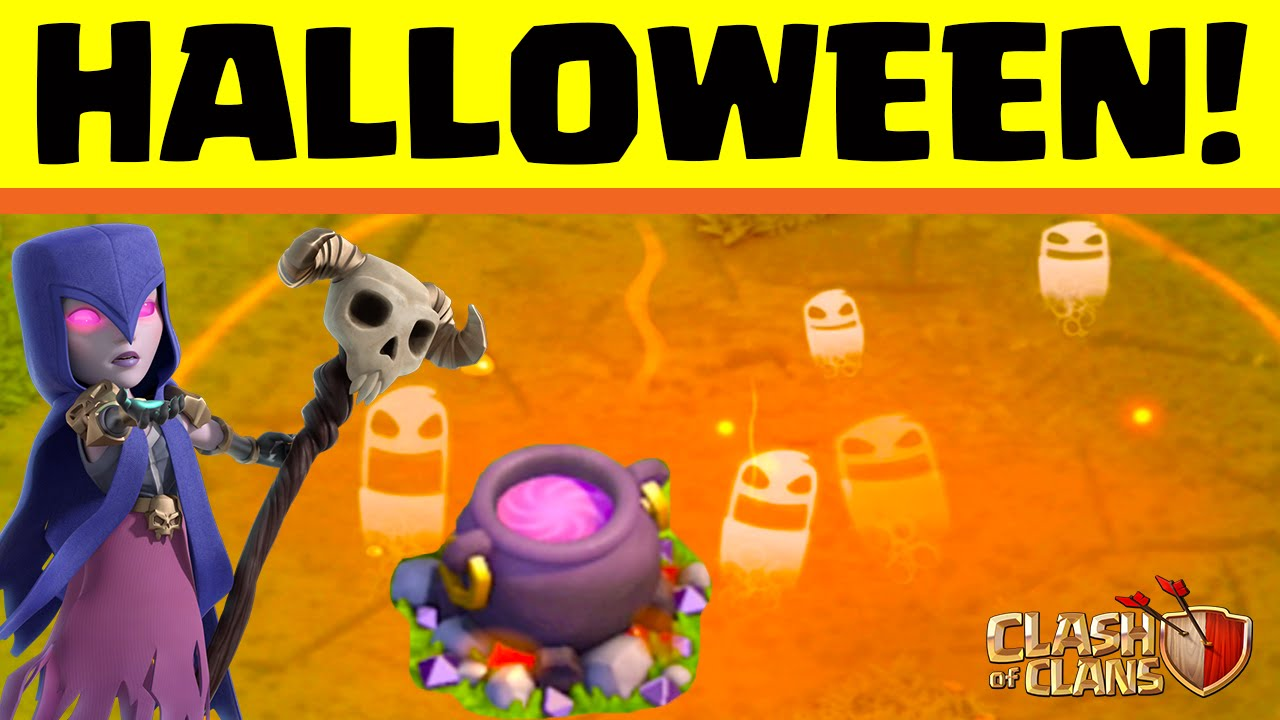 Clash of Clans ♢ Halloween Event 2015! ♢ CoC ♢ | diy.fyi