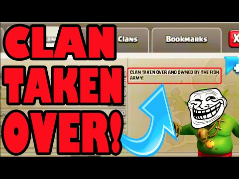clash of clans we did it clan fully taken over from trolls