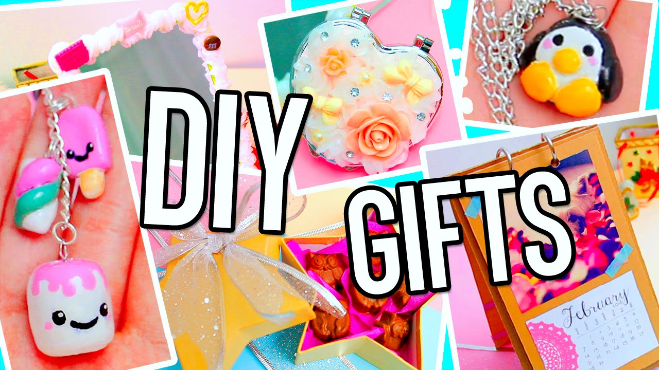 DIY Christmas Gifts Ideas! Make your own cute & cheap presents: for ...