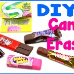 DIY Crafts: 6 Easy DIY Candy Erasers – Cool Unique Craft Tutorial