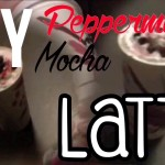 DIY Peppermint Mocha Latte with no Coffee!