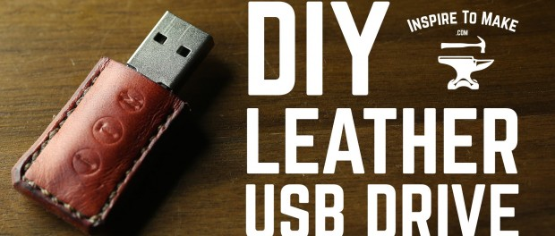 DIY Projects – Leather USB drive