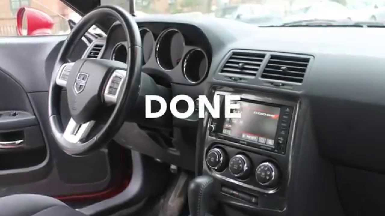Dodge Challenger How To Replace Stereo Install Aftermarket
