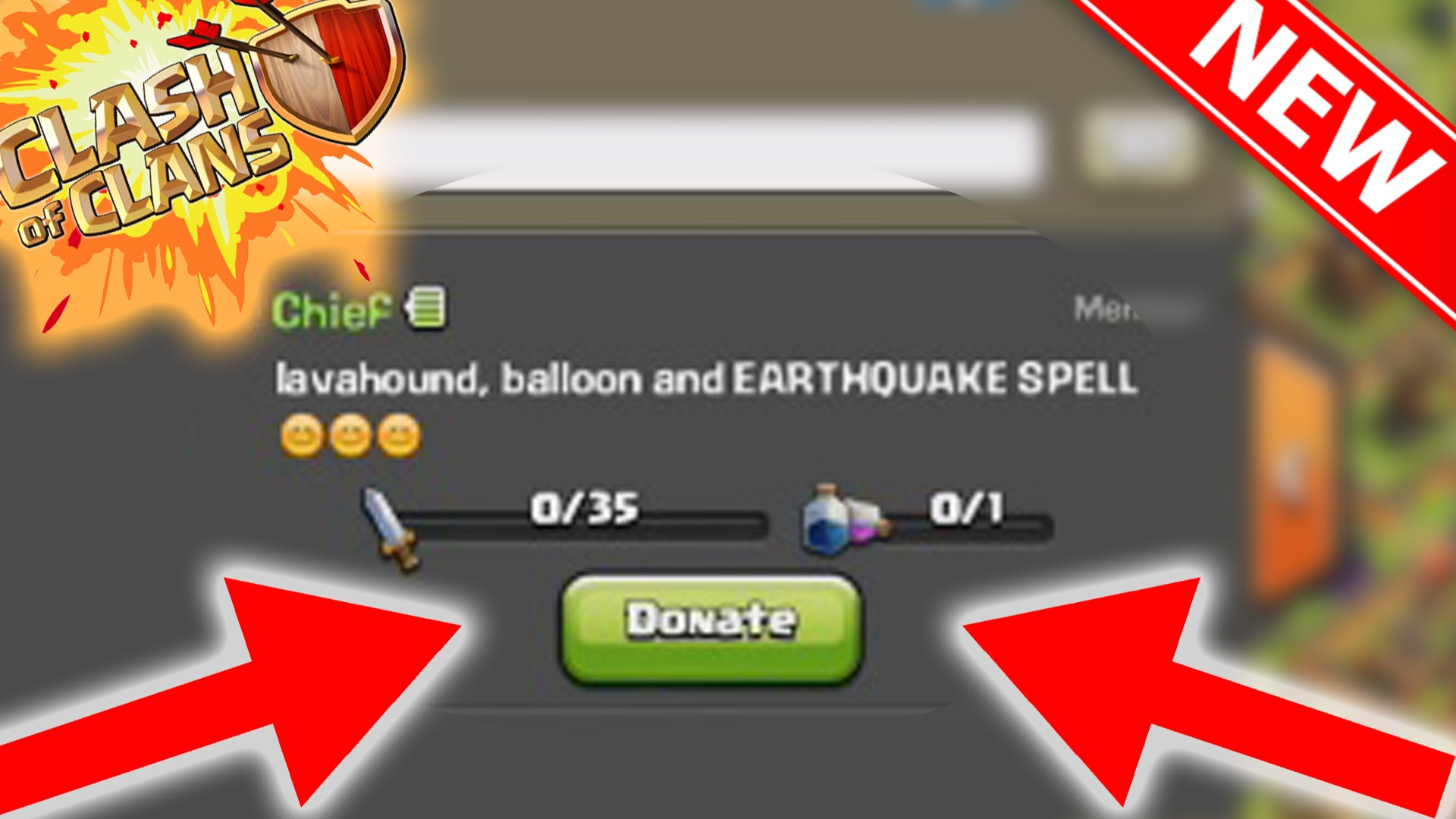 Donate Gems Clash Of Clans