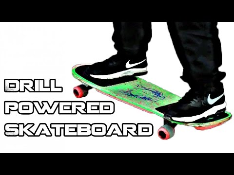how to build a remote powered skateboard