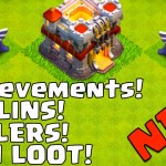 EAGLE ARTILLERY! New Achievements, Goblins & Healer Stats! Town Hall 11 Sneak Peek #10