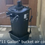 "Homemade Air Conditioner DIY – The ""11 Gallon Bucket"" Air Cooler! DIY- can be solar powered!"