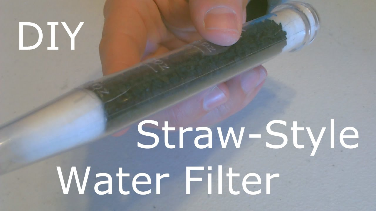 Homemade Water Filter The Diy Straw Style Water Filter