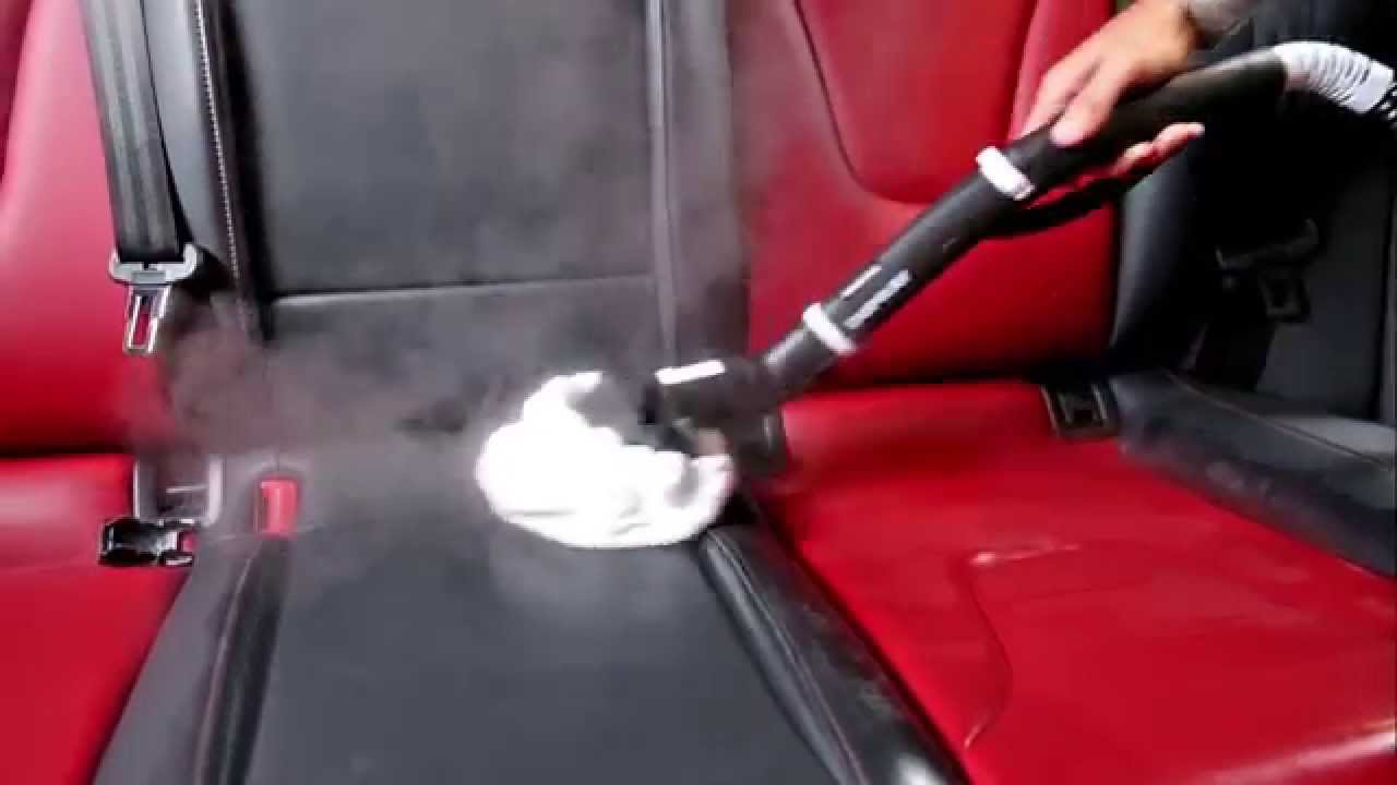 how to clean leather car seats with a steam cleaner. Black Bedroom Furniture Sets. Home Design Ideas
