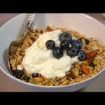 Karen's healthy homemade muesli with almonds