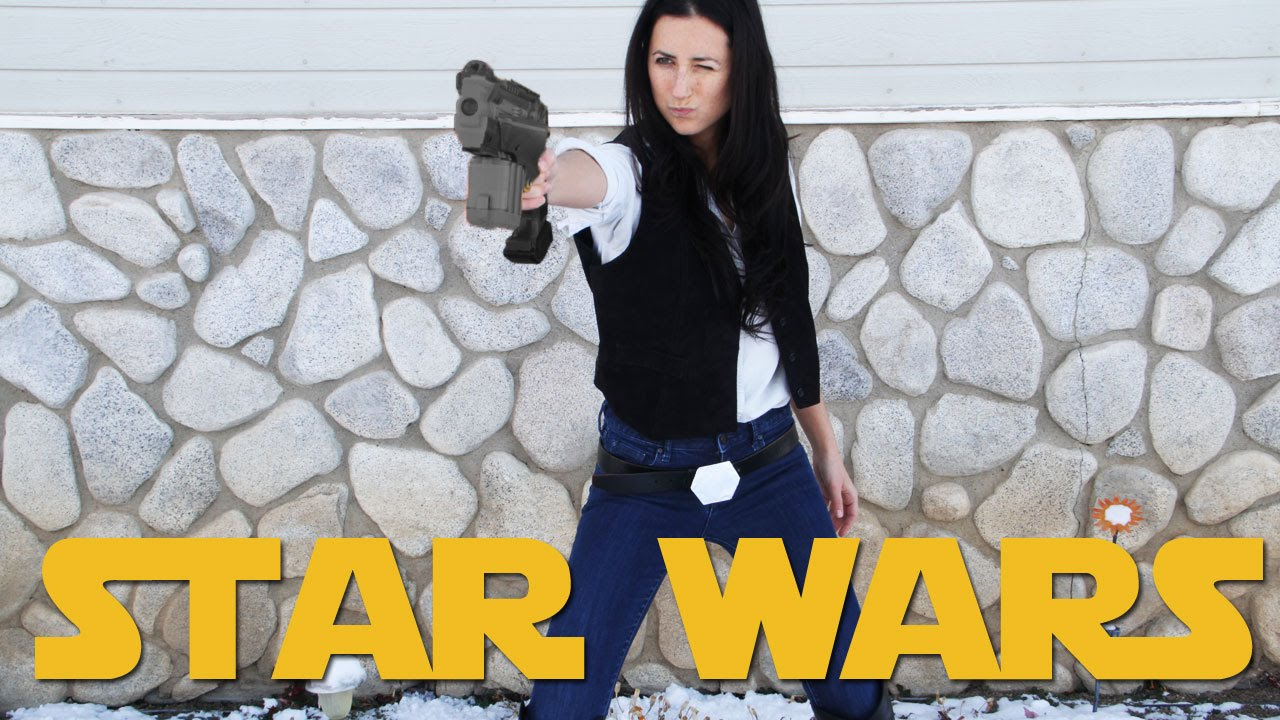 Girl in star wars outfit fuckstures — photo 13