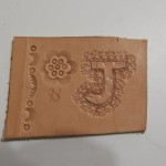 Leatherwork5/Basic Tooling and stamping Lesson