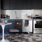 MAKEOVER – A Small Condo Kitchen With Black Cabinets!