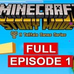 Minecraft Story Mode Gameplay Walkthrough Part 1 [1080p HD] Full Episode – No Commentary