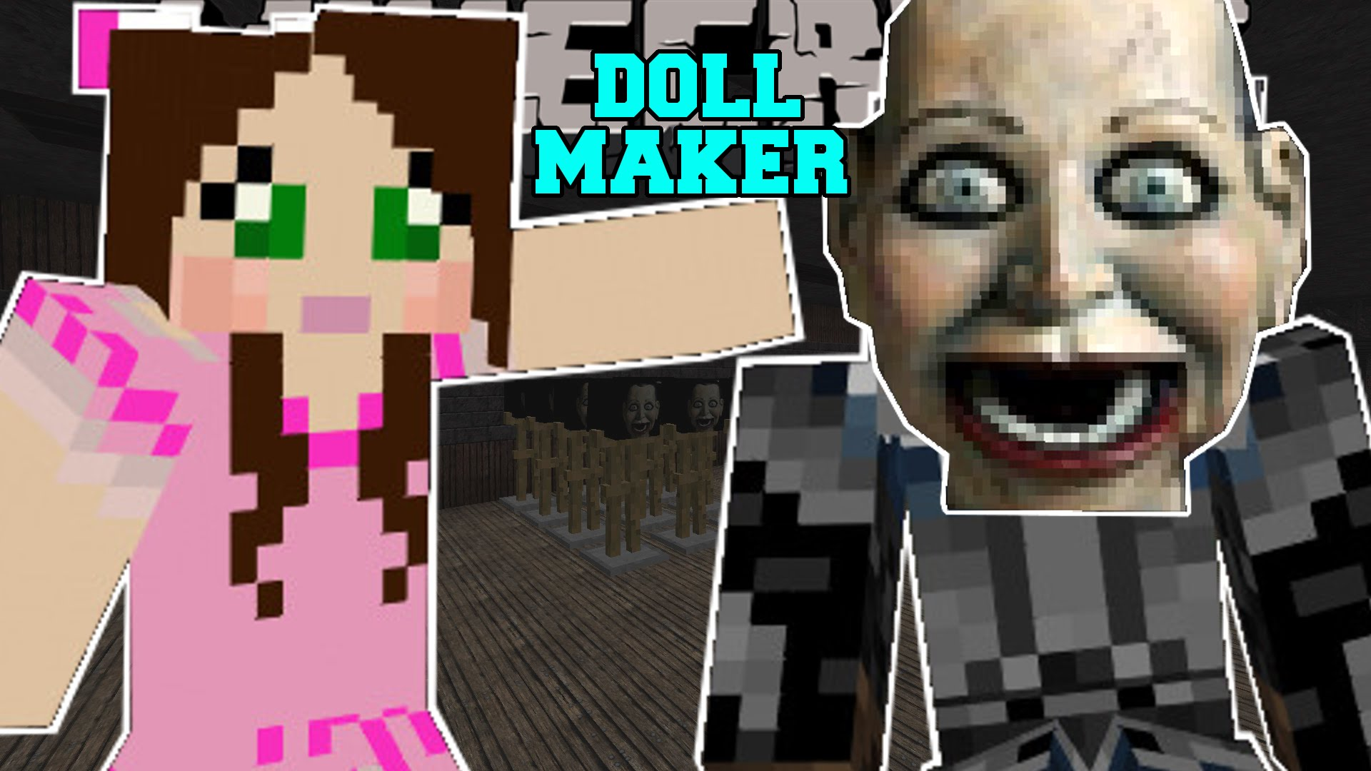 Minecraft – THE CREEPY DOLL FACTORY! – The Doll Maker