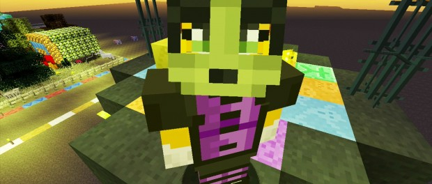 Minecraft Xbox – Building Time – Trick Or Treat {6}