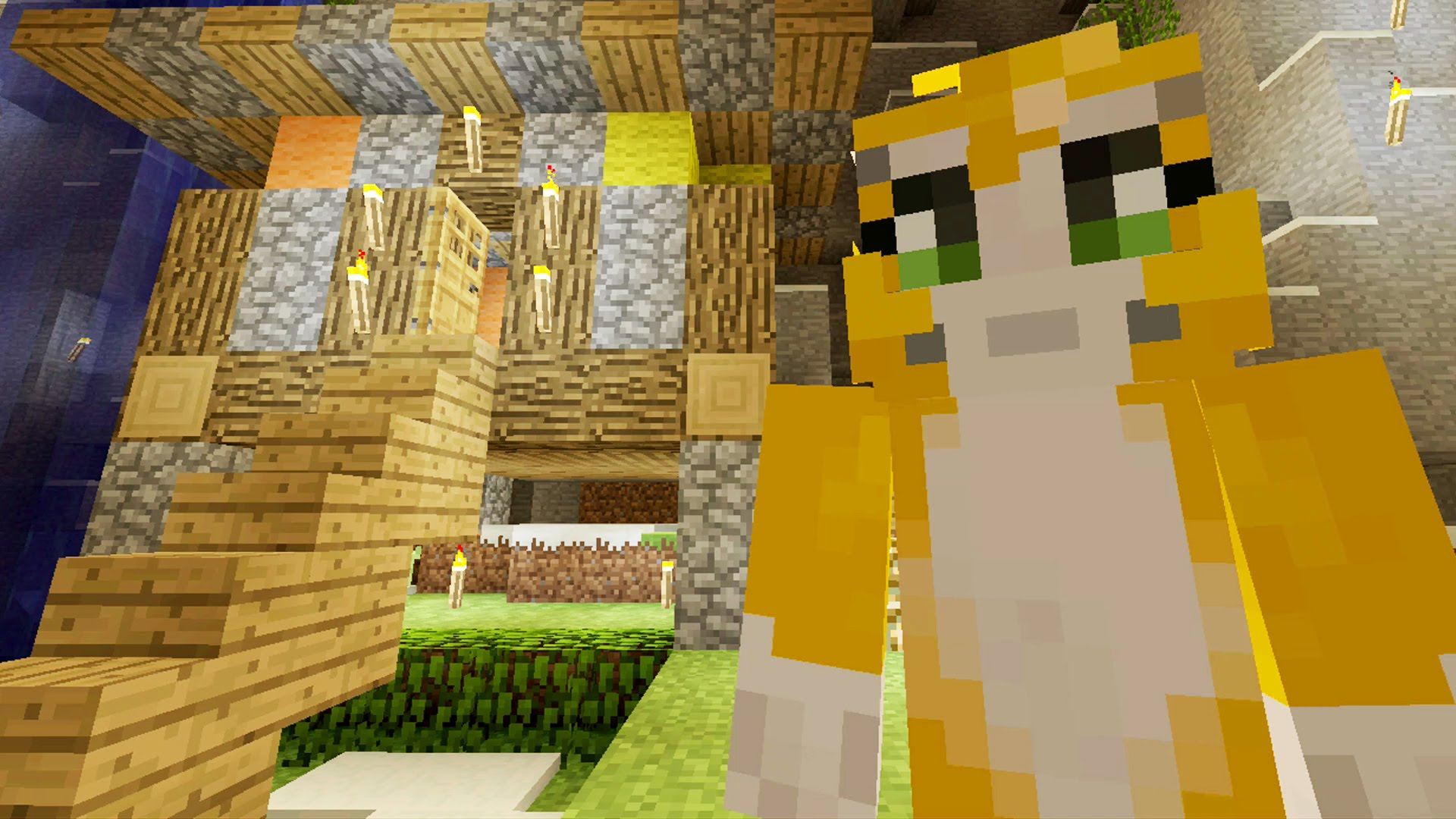Minecraft Xbox – Cave Den – Home Away From Home (33) | diy.fyi