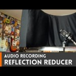 Sound Reflection Dampener for audio recording  // How-To