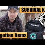 Survival Kits – Build Your Own: The 5 Most Forgotten Items | Disasters & Emergencies