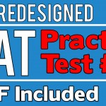 The New SAT – Practice Test #1 – Math Section 4 – Q31-38