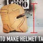 Tips: How to Fix Cardboard Helmet – Add Height | Dali DIY